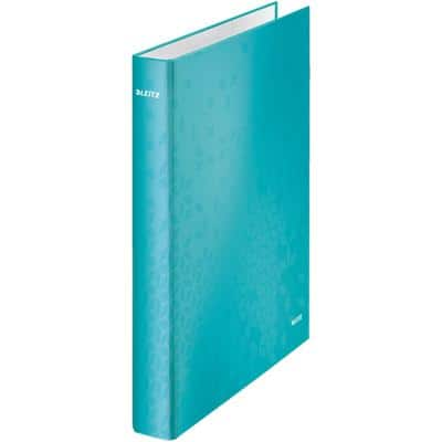 Leitz Ring Binder Laminated Board A4 + 4 ring 25 mm Ice Blue