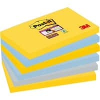 Post-it Super Sticky Notes 127 x 76 mm New York 6 Pieces of 90 Sheets