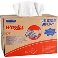WYPALL Cleaning Cloths X70 1 Ply White 200 Sheets