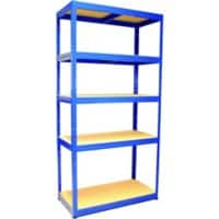 SLINGSBY Shelving Unit Blue 1,950 x 1,200 x 1,950 mm