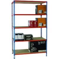 SLINGSBY Shelving Unit Blue 1,200 x 500 x 2,000 mm