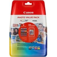 Canon 4540B017 Original Ink Cartridge Black, Cyan, Yellow, Magenta 4 Pieces