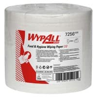 WYPALL Wiping Paper L10 1 Ply White 6 Rolls of 700 Sheets