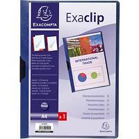 Exacompta Presentation Folder 437807B Blue Pack of 25