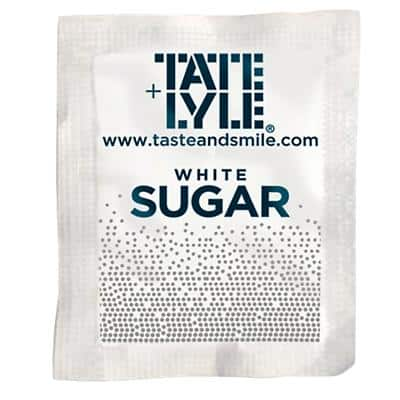 Tate & Lyle White Sugar Sachets 2.5g Pack of 1000