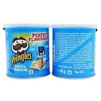 Pringles Crisps Salt and Vinegar 12 Pieces of 40 g