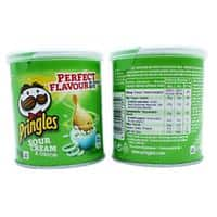 Pringles Crisps Sour Cream and Onion 12 Pieces of 40 g