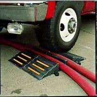 Hose and Cable Protector Ramp 2 Deep Sockets Black 32 x 83 x 10.2 cm