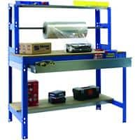 SLINGSBY Packing workbench with roll holder and drawer 1200 mm