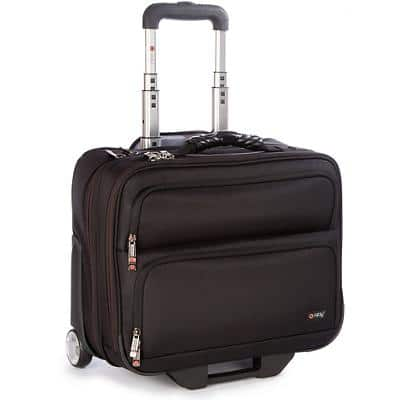 i-stay Trolley Fortis Laptop Case is0205 15.6 Inch 35.5 x 20 x 41.5 cm Black