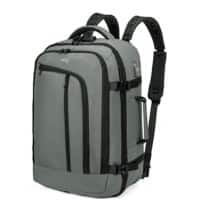 Falcon Laptop Backpack is0215 15.6 Inch Polyester Grey 33 x 17 x 51 cm