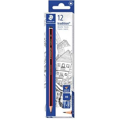 STAEDTLER Pencils Tradition HB 12 Pieces