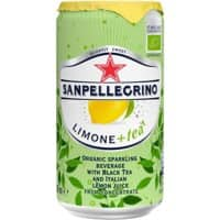 S.Pellegrino Sparkling Tea Can Lemon 250ml 24 Pieces