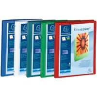 Exacompta Presentation Ring Binder Polypropylene A4 4 ring 15 mm Assorted Pack of 5