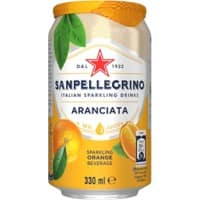 San Pellegrino Orange 330ml 24 pieces