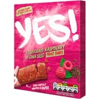 YES Raspberry and Chia Seeds Bar Raspberry 32 g