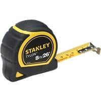 Pocket Tape Measure Stanley Tylon 8M 26 FT wide 25MM LOOSE