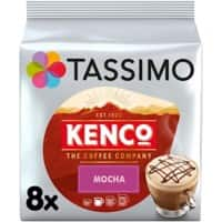 Tassimo Mocha Coffee Pods Pack of 8