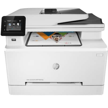 HP laserjet pro M281fdw colour laser all-in-one printer