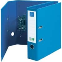 Exacompta CleanSafe Lever Arch File 70mm Cardboard A4 Blue