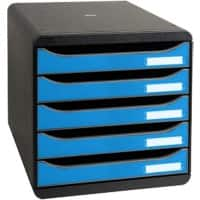 Exacompta Drawer Unit 3097100D Clean'Safe A4+ Plastic Blue 27.8 x 34.7 x 27.1 cm