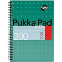Pukka Pad A5 Notepad Ruled 200 Pages Pack of 3