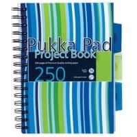 Pukka Pad Notebook A5 Ruled White 3 Pieces of 125 Sheets