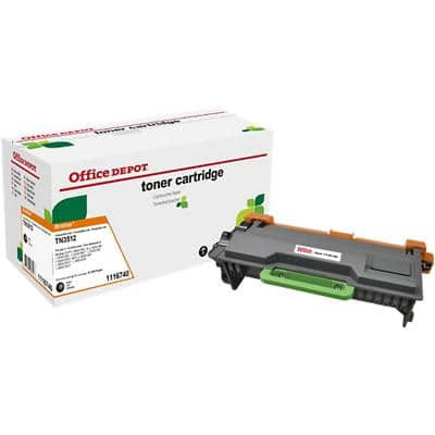 Compatible Office Depot Brother TN3512 Toner Cartridge Black