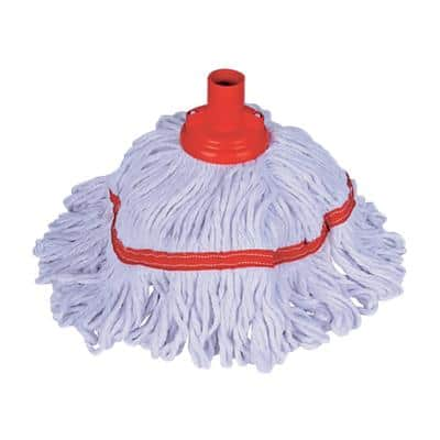 Robert Scott Socket Mop Head Hygiemix Red & White