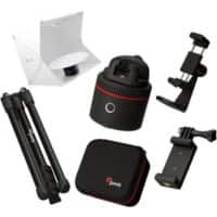 Pivo Pod Red Bundle including Travel Case, Remote Control, Tripod and Action Mount Studio 360