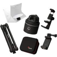 Pivo Pod Silver Bundle including Travel Case, Remote Control, Tripod and Action Mount Studio 360