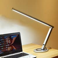 Stewart Superior Standing Desk Lamp with USB FX26 Black