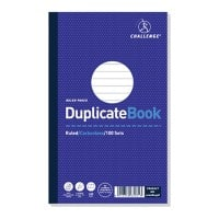 Challenge Ruled Duplicate Book with Card Cover 210 x 130 mm
