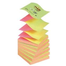 Post-it Z-Notes 76 x 76 mm Assorted 6 Pieces of 100 Sheets