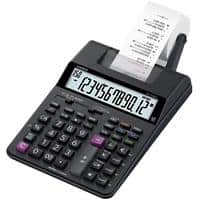 Casio Printing Calculator HR-150RC 12 Digit Display Black