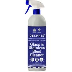 Delphis Eco Cleaner Glass and Stainless Steel Fragrance Free 750 ml
