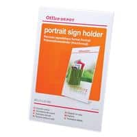 Office Depot A4 Angled Sign Holder