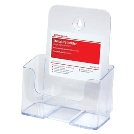 Office Depot A5 Single Tier Literature Holder