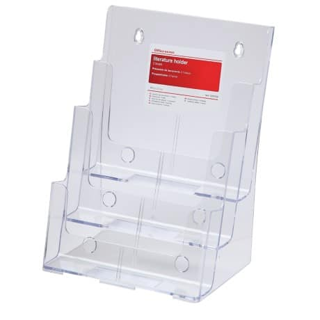 Office Depot A4 3 Tier Literature Holder
