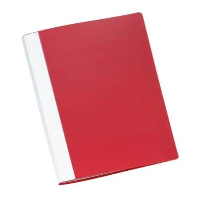 Office Depot Display Book A4 Red 40 Pockets