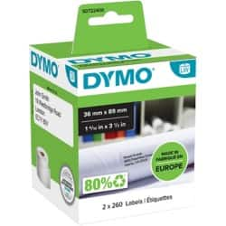 DYMO Address Labels 99012 36 x 89 mm White