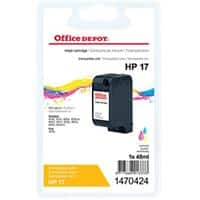 Office Depot Compatible HP 17 Ink Cartridge C6625A 3 Colours