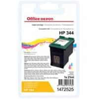 Office Depot Compatible HP 344 Ink Cartridge C9363EE 3 Colours