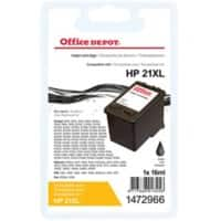 Office Depot Compatible HP 21 Ink Cartridge C9351A Black