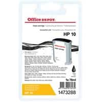 Office Depot Compatible HP 10 Ink Cartridge C4844A Black