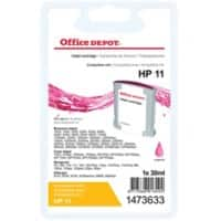 Office Depot Compatible HP 11 Ink Cartridge C4837A Magenta