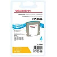 Office Depot Compatible HP 88XL Ink Cartridge C9391A Cyan