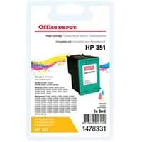 Office Depot Compatible HP 351 Ink Cartridge CB337EE 3 Colours