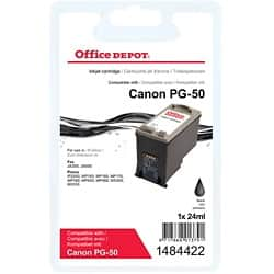 Office Depot Compatible Canon PG-50 Ink Cartridge Black