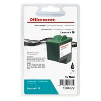 Office Depot Compatible Lexmark 16 Ink Cartridge Black